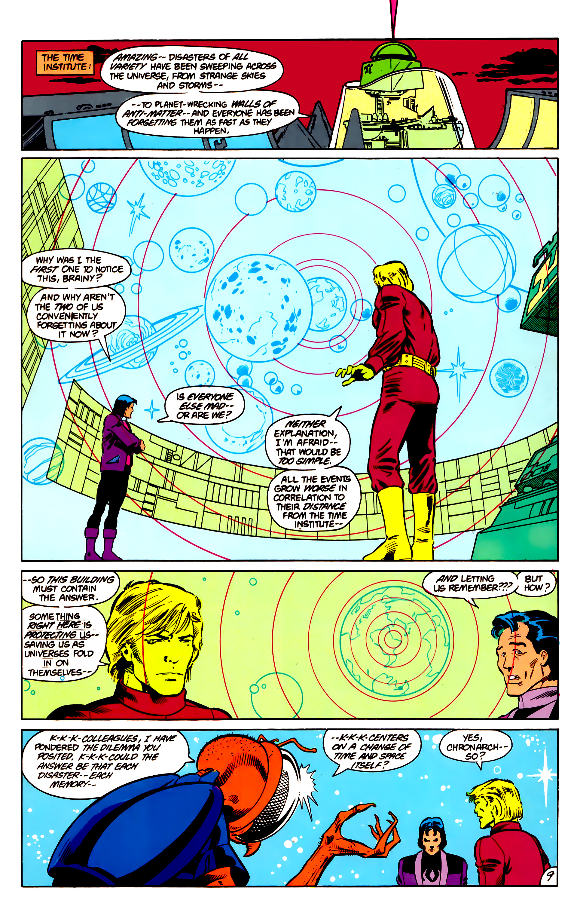 Legion of Super-Heroes (1984) 18 Page 9