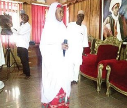 I wasn't forced into Islam or marriage- Embattled teenager alleged to have been married off by Emir of Katsina says