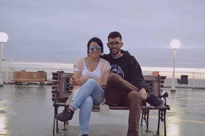 Javier topomagico con Gloria