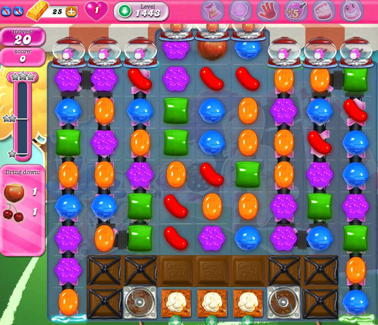 Candy Crush Saga 1443