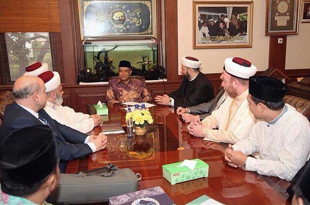 Ketum PBNU menerima kunjungan delegasi Darul Fatwa Australia