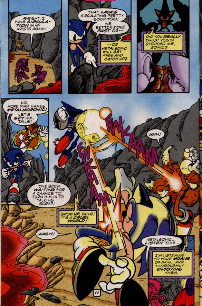 Read online Sonic The Hedgehog comic -  Issue #87 - 11