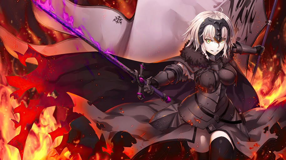 Jeanne d'Arc, Alter, Fate/Grand Order, 4K, #6.2313