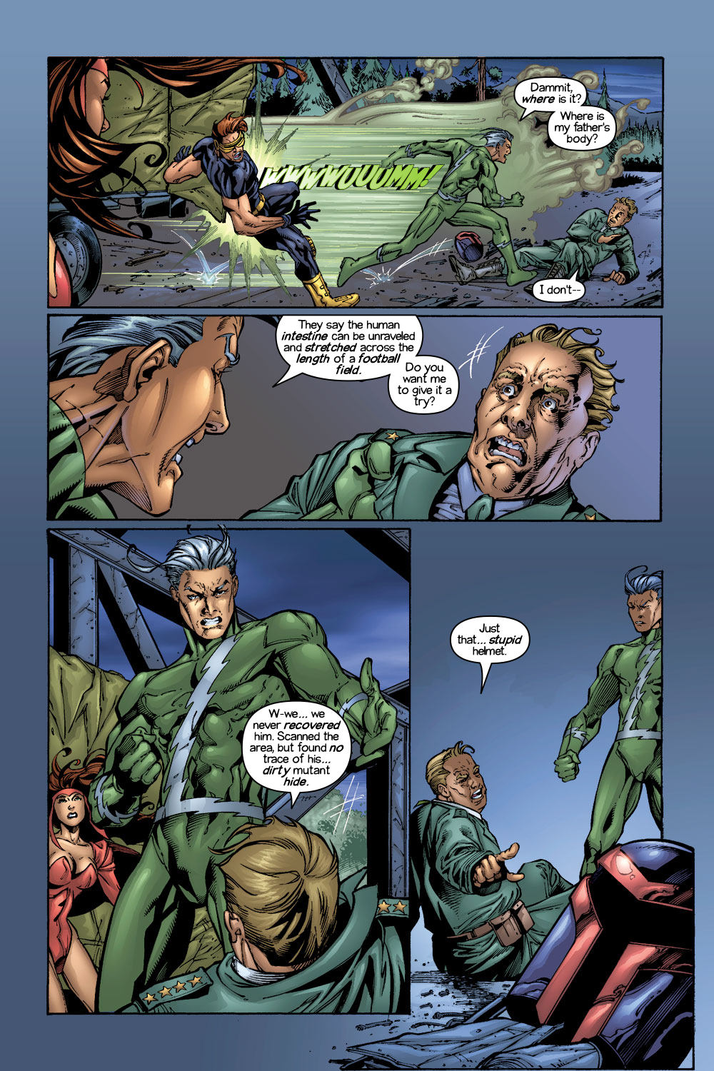 Read online Ultimate X-Men comic -  Issue #1/2 - 11