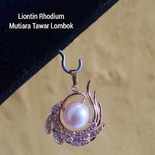 Harga Liontin Mutiara Tawar Lombok Murah