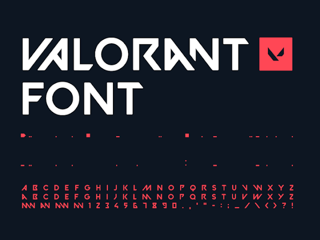 Valorant Download Font Free
