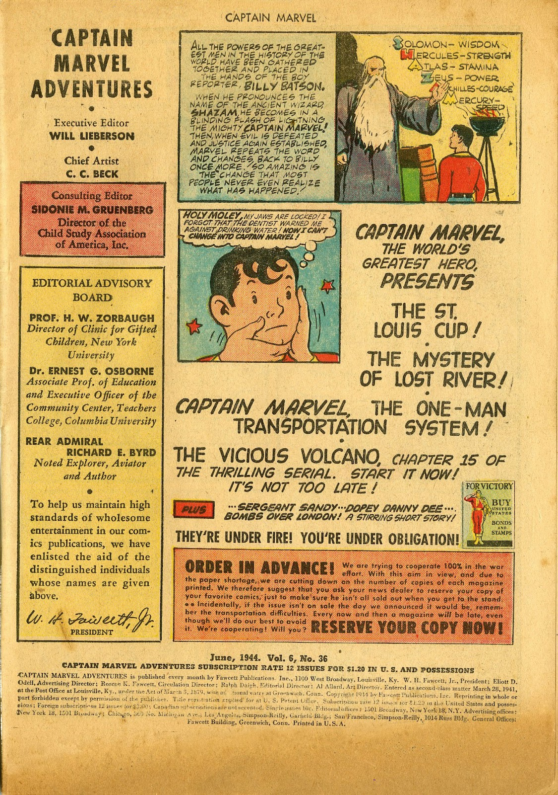 Captain Marvel Adventures issue 36 - Page 3