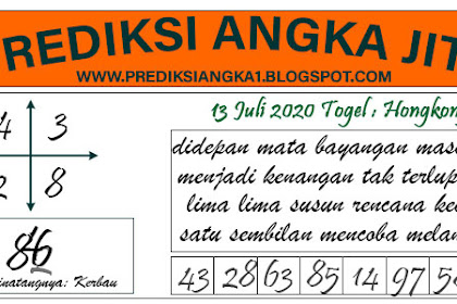 Prediksi Akurat Togel Hongkong Senin 13 Juli 2020