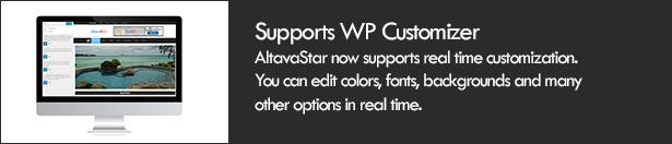 Supports WP Customization