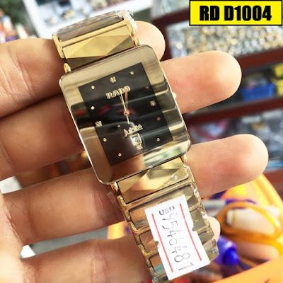 Đồng hồ nam mặt vuông Rado D1004