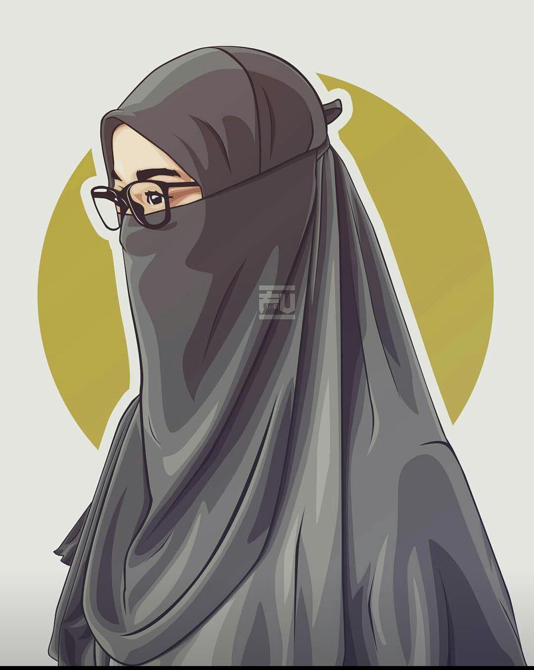 Foto Anime Hijab Keren