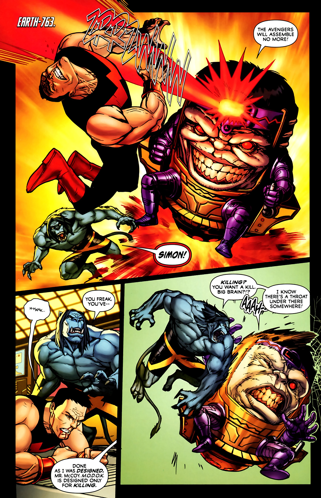 Read online Exiles (2009) comic -  Issue #1 - 6