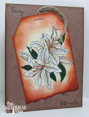 ODBD Stargazer Lily, ODBD Beauty, ODBD To My Favorite, Card Designer Angie Crockett