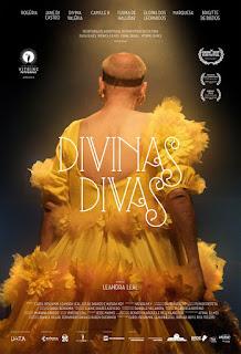 """Poster do filme """"Divinas DIvas"""""""