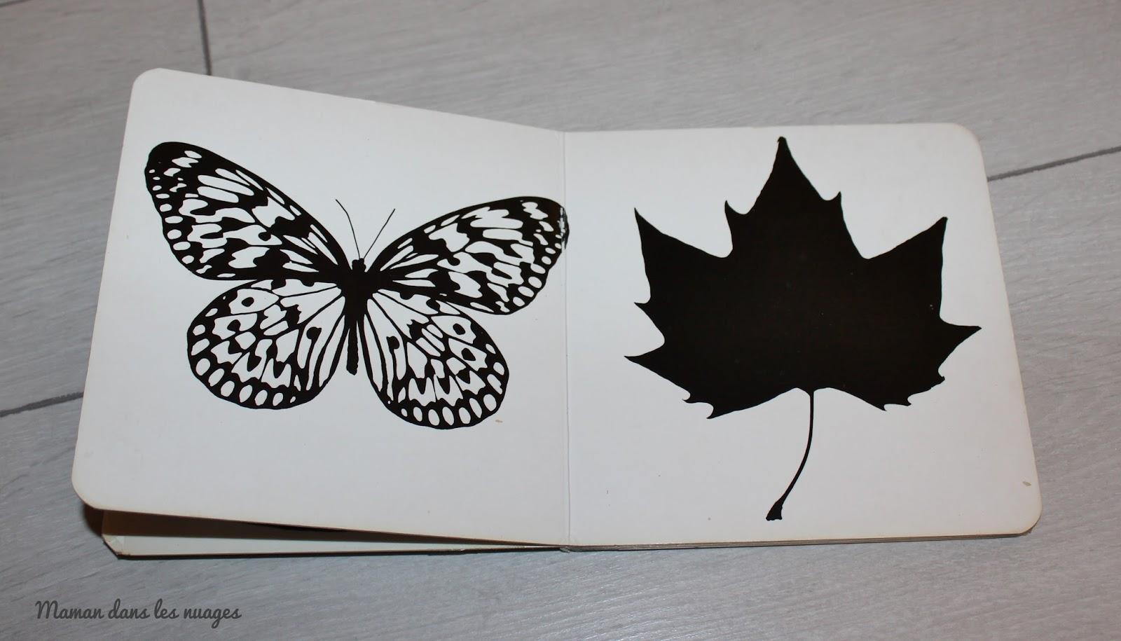 images contrastees en noir et blanc
