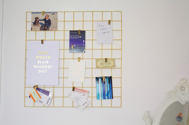 Gold Wire Grid Urban Outfitters