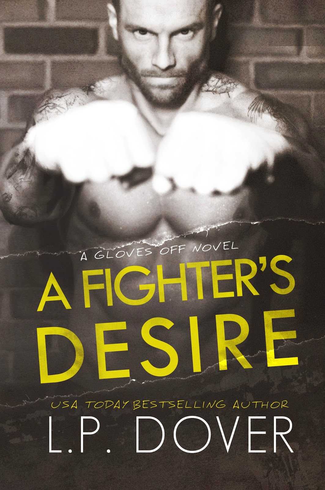 Cover Reveal: A Fighter's Desire by LP Dover