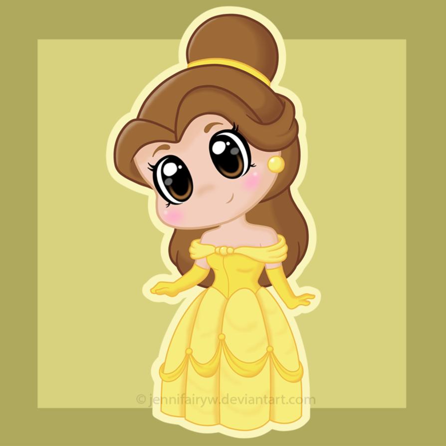 princess belle chibi công chúa người đẹp và quái vật 6