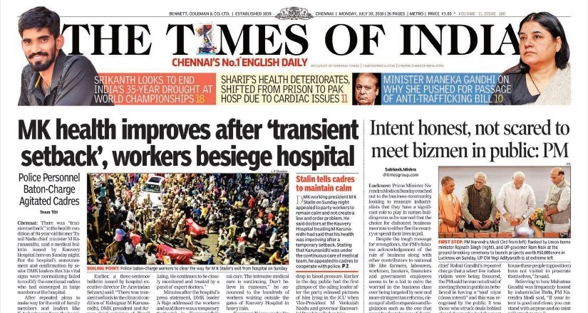 How To Times Of India Epaper In Pdf