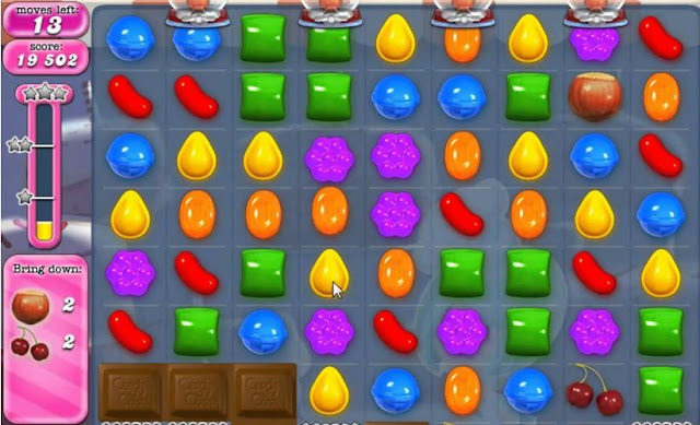 candy crush saga free android puzzle game to kill time