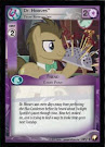My Little Pony Dr. Hooves, Time Researcher Equestrian Odysseys CCG Card