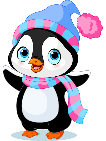 Cheerful Penguin Icon