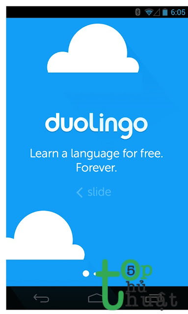 Ứng dụng dịch thuật Duolingo