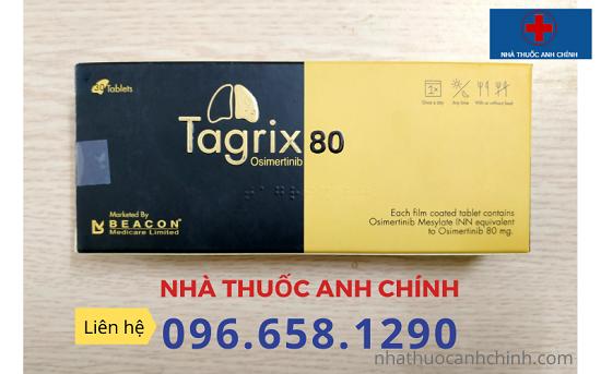 Tagrix/Osimertinib Viên nén 80mg Điều trị ung thư phổi