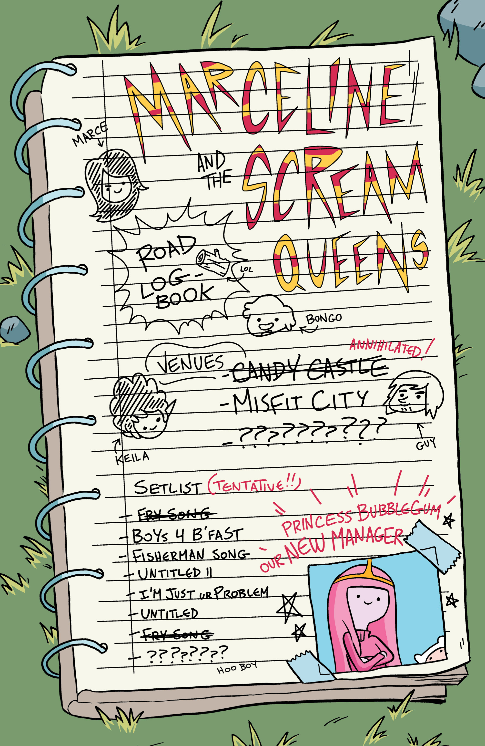 Read online Adventure Time: Marceline and the Scream Queens comic -  Issue #2 - 6