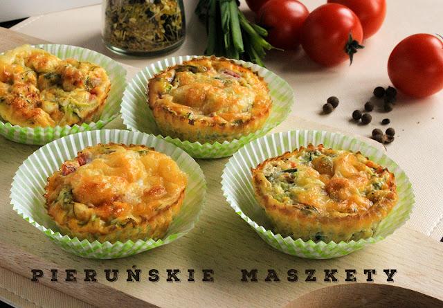 omlety z piekarnika
