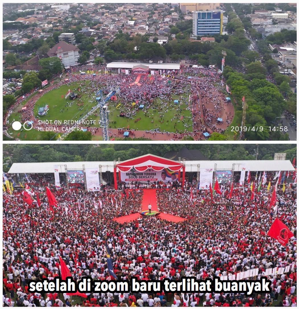 Kampanye Akbar Jokowi di Solo Dilarang Pakai Drone, Ternyata karena Ini