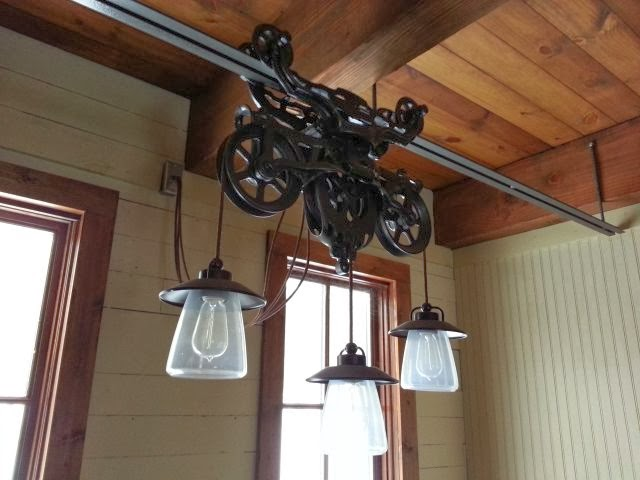 Popular Hotdabble: Barn Trolley Light Fixtures ML32