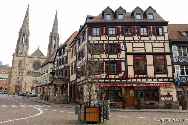 Calles de Obernai, Alsacia