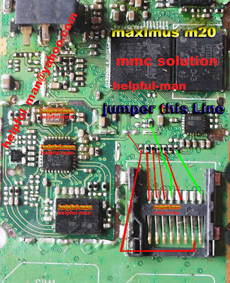 maximus m20 mmc soltion jumper