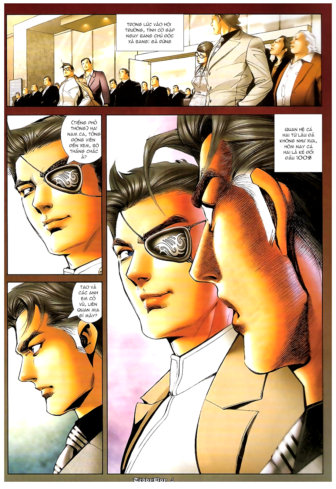 Người Trong Giang Hồ - Chapter 1199: Canh bạc - Pic 3