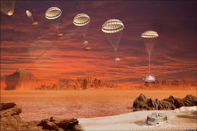 titan surface landing