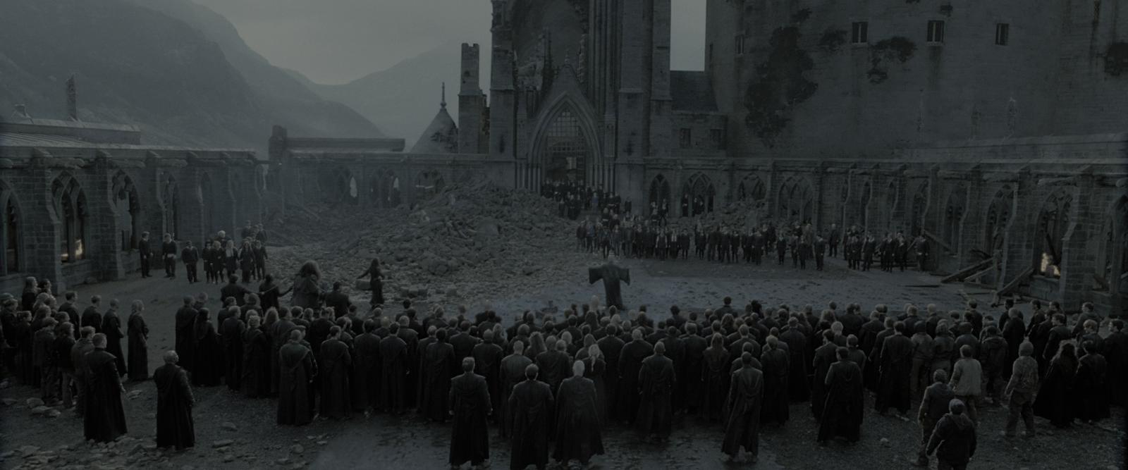 Harry Potter y las Reliquias de la Muerte - Parte 2 (2011) 4K UHD [HDR] Latino-Castellano-Ingles captura 4