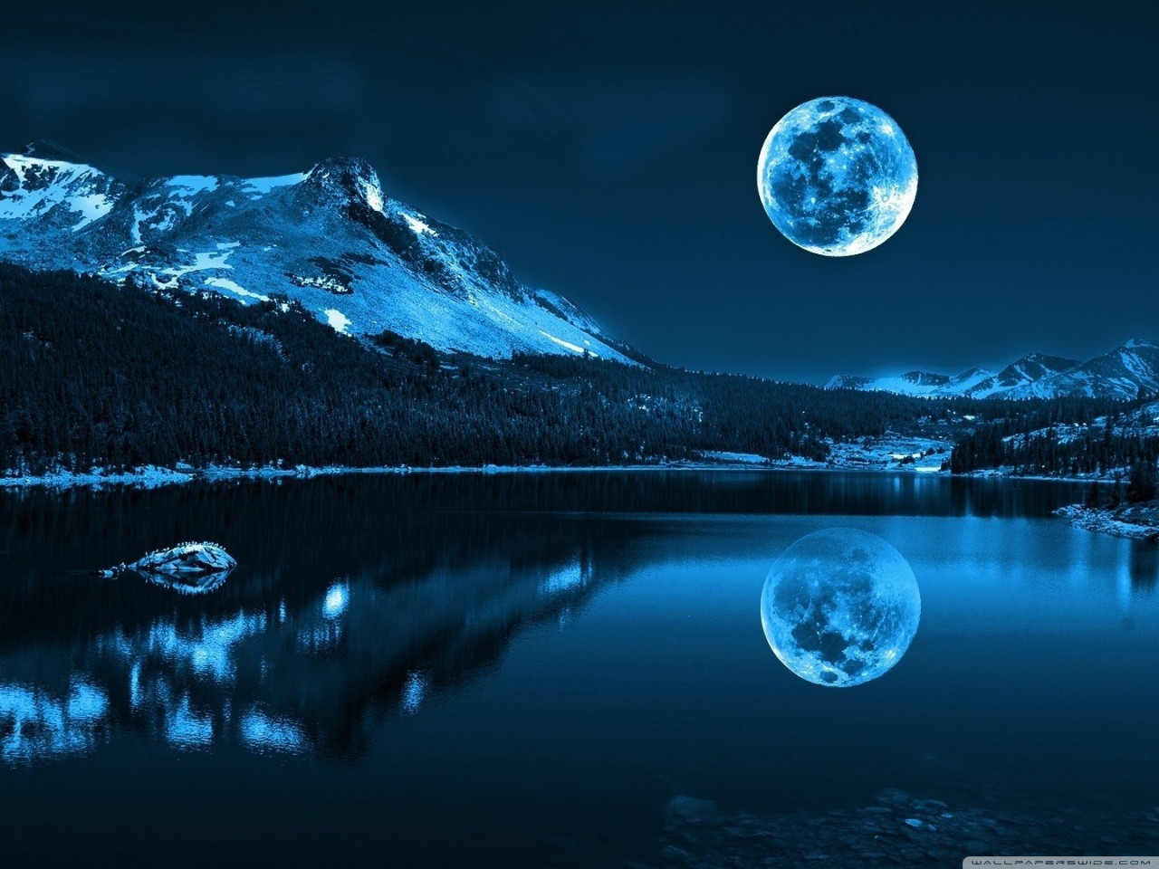 Download Moonlight night wallpapers | Most beautiful ...