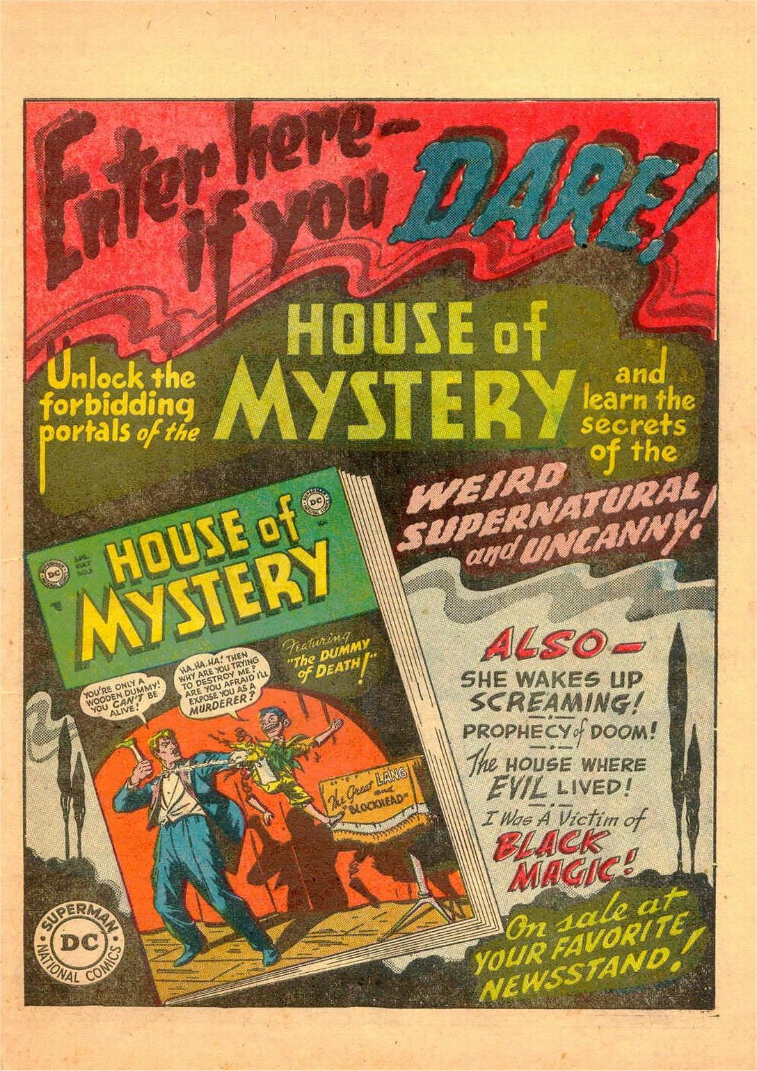 Read online Detective Comics (1937) comic -  Issue #182 - 32