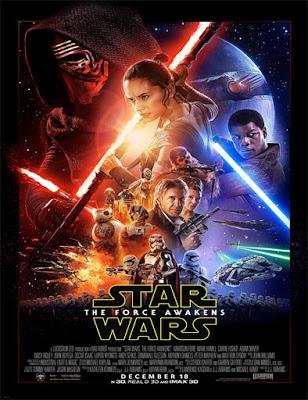 Poster Star Wars 7 El Despertar de la Fuerza
