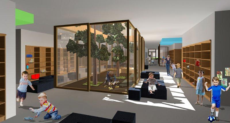 Minimalist Classroom Layout ~ Nursery school design ideas home inside