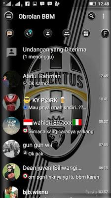 BBM MOD Juventus 3.2.2.8 APK