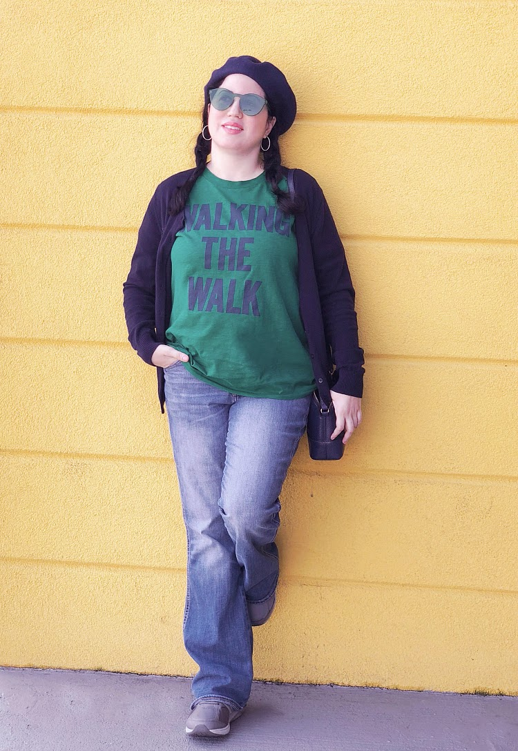 A Vintage Nerd Vintage Blog JCrew T-Shirts 60s Style Vintage Fashion Inspiration Plus Size Blogger