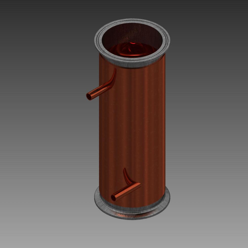 Wong Makes Home Still Dephlegmator Module Concept 1