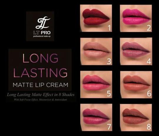 make up lover me: REVIEW LT PRO LONG LASTING MATTE LIP