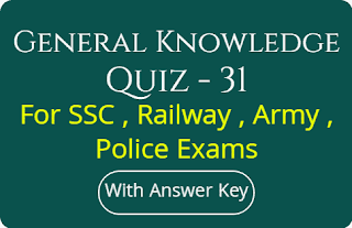 General Knowledge Quiz - 31