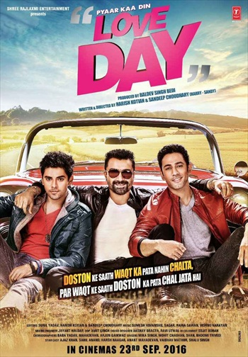 Love Day - Pyaar Ka Din 2016 Hindi 720p WEB-DL 999mb