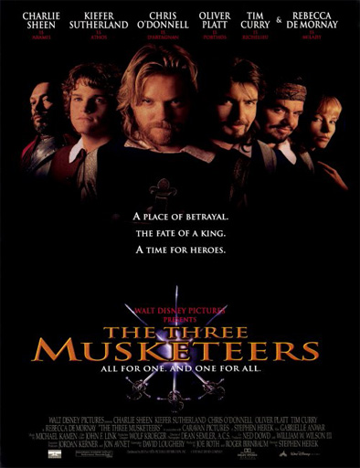 Ver Los tres mosqueteros (The Three Musketeers) (1993) Online