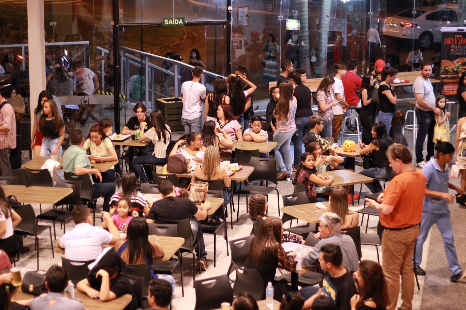 Senac e Shopping Boulevard Garden de Araxá, promoveram dia cultural no Halloween