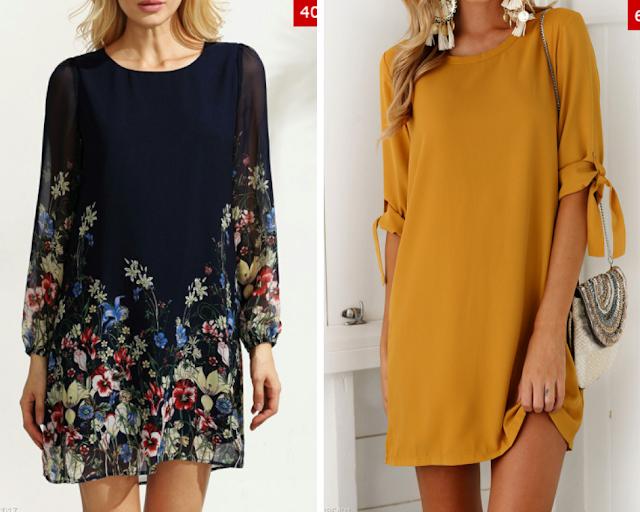 Onde comprar vestidos com manga longa